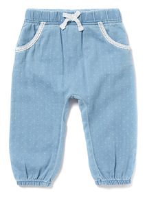 Blue Denim Trousers (0-24 months)
