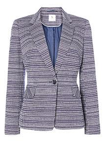 Dotted Stripe Jacket