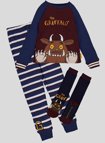 The Gruffalo Multicoloured Pyjamas With Socks (1-7 years)