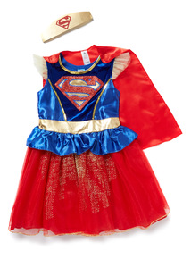 Multicoloured Supergirl Costume (2-12 years)