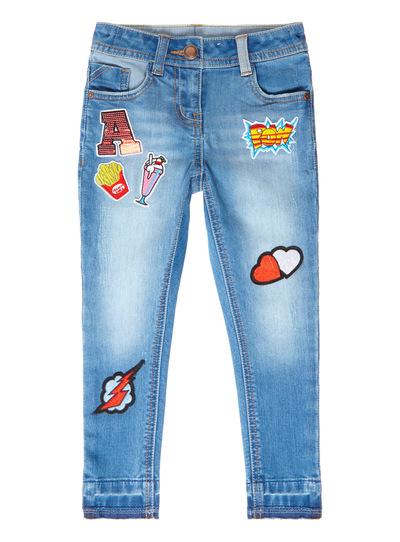 Denim Badge Jeans (3-12 years)