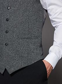 Grey Grindle Waistcoat