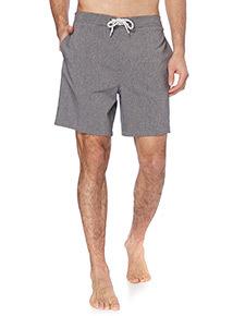 Grey Plain Swim Shorts