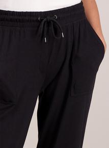 Black Patch Pocket Joggers