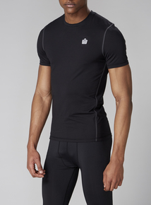 Admiral Performance Black Base Layer Top