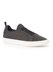Black Textile Trainers