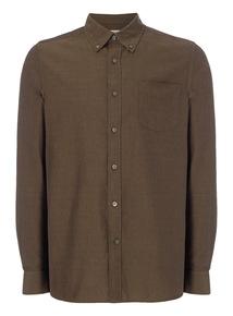 Khaki Oxford Shirt
