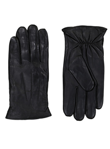 3M Thinsulate Black Leather Gloves