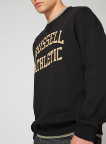 Russell Athletic Black Crew Neck Sweatshirt