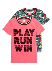 Pink Dance Tops 2 Pack (3-14 years)