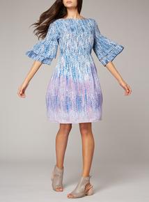 Premium Printed Tea Dress