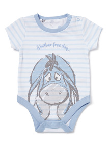 Blue Stripe Disney Eeyore Bodysuit (Newborn-12 months)