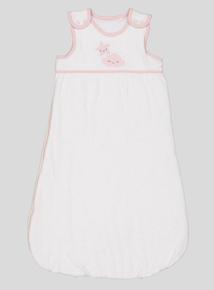 Pink Cloud Motif Sleep Bag (0-24 months)