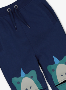 Navy Dinosaur Knee Joggers (9 Months - 6 Years)