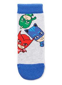 3 Pack Multicoloured PJ Masks Socks