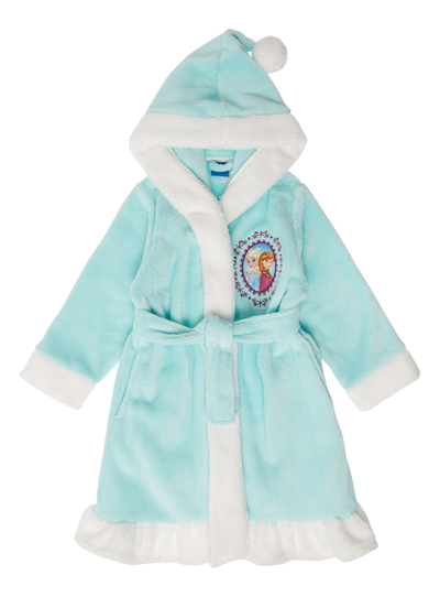 Kids Girls Blue Frozen Dressing Gown (2-12 years) | Tu clothing