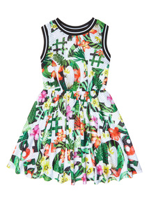 Multicoloured Numbers Dress (3-12 years)