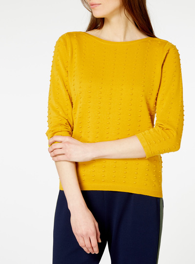 Yellow Dot Jumper