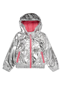 Silver Foil Lightweight Coat (3 - 12 years)