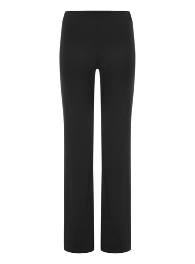 details for superior quality special sales SKU: PIPED BOOT CUT JOGGER PINK PIPING AW14:Black