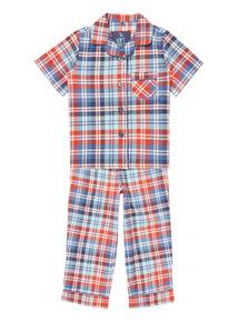 Kids Woven Check Pyjama Set (1 - 10 years)