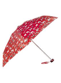 Red Dog Printed Mini Umbrella