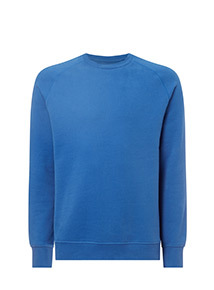 Cobalt Blue Long Sleeve Sweatshirt