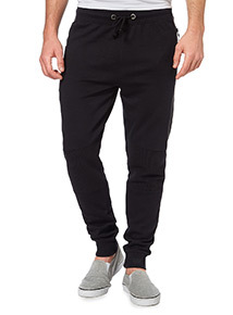 Black Ottoman Performance Joggers