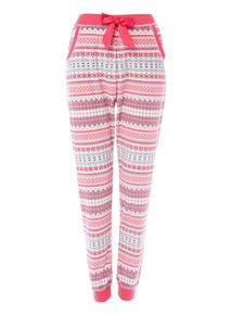 Pink Navaho Stripe Tibet Slinky Trouser