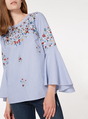 Thumbnail of SKU PLINTH EMB STRIPE TOP:Blue