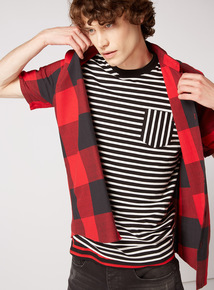 GFW Red Buffalo Check Oversized Shirt