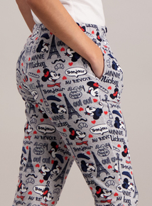 Disney Mickey & Minnie Mouse Paris Pyjama Bottoms