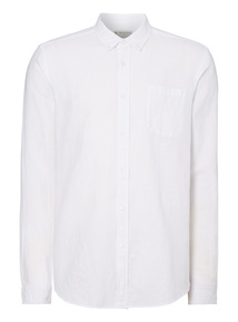 White Linen Rich Shirt