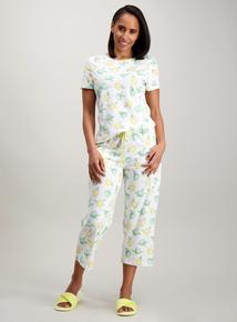 2f1b6ad21d4a White Lemon   Lime Print Pyjamas
