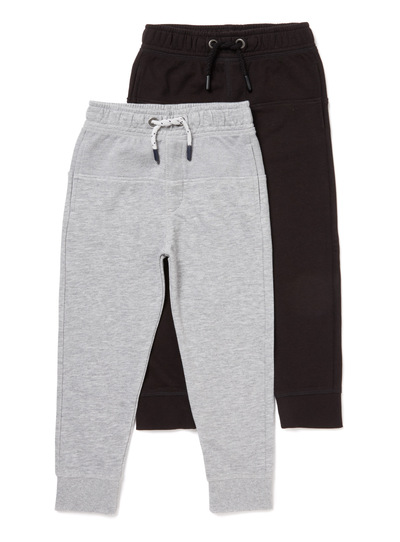 2 Pack Panel Joggers (3-14 years)