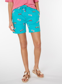 Sunglasses Print Shorts