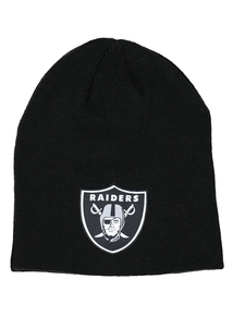 NFL Black Oakland Raiders Beanie Hat