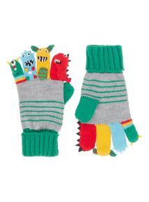 Boys Multicoloured Monster Puppet Gloves