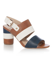 Colour Block Sandals