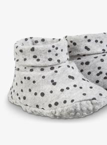 Grey Spot Bootie (0-18 months)