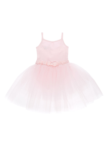 Girls Pink Ballet Tutu Dress (2-10 years)