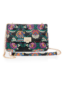 Floral Quilted Handle Party Bag