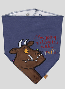 The Gruffalo Navy Character Bib 2 Pack (One Size)