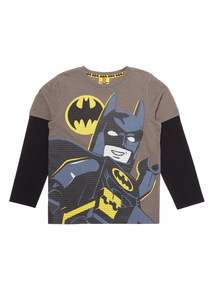 Boys Multicoloured Batman Lego Top (3-12 years)