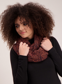Multicoloured Soft Knit Snood