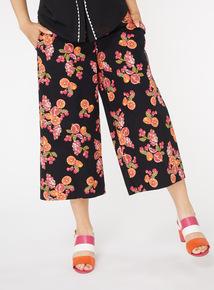 Fruit Print Culottes