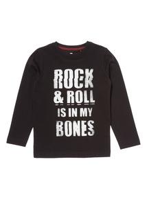 Black Rock & Roll Long Sleeve Tee (3-12 years)