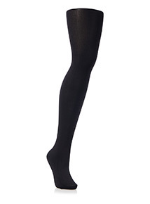 Black 100 Denier Silky Opaque Lycra Tights 1 Pack