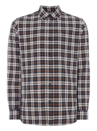 Navy Check Oxford Shirt