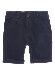 Boys Navy Chino Shorts (3 - 12 years)